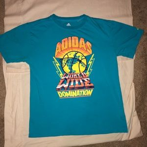 Adidas world wide Domination T-shirt! 🔥🔥🔥🔥!